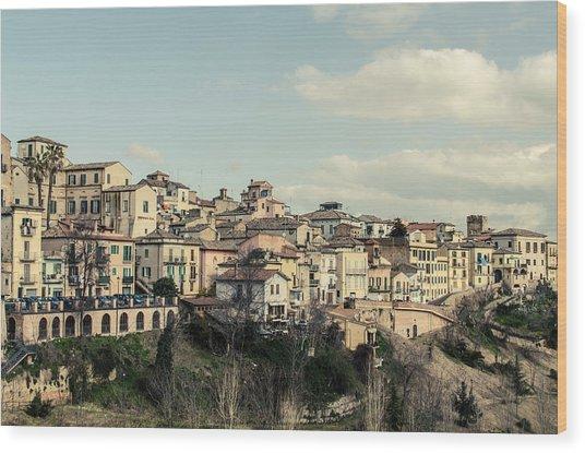 Lanciano - Abruzzo - Italy  Wood Print