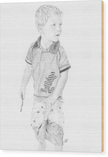 Landon Wood Print