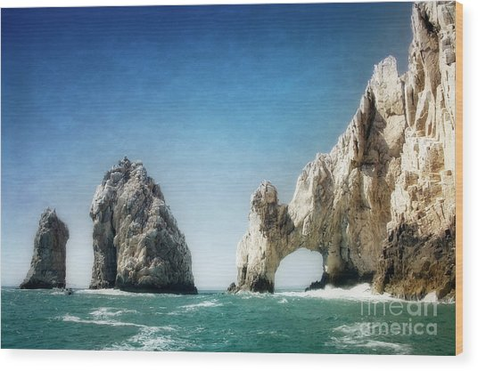 Wood Print featuring the photograph Lands End by Scott Kemper