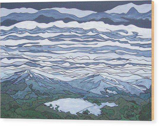 Landscape 381 Wood Print