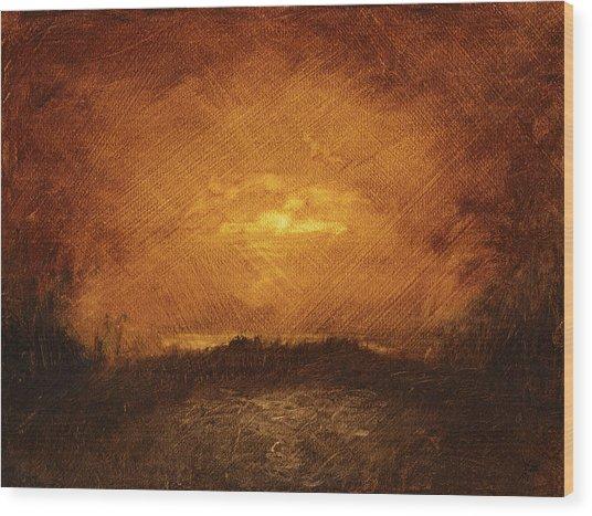 Landscape 44 Wood Print