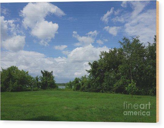 Landscape Photo Wood Print