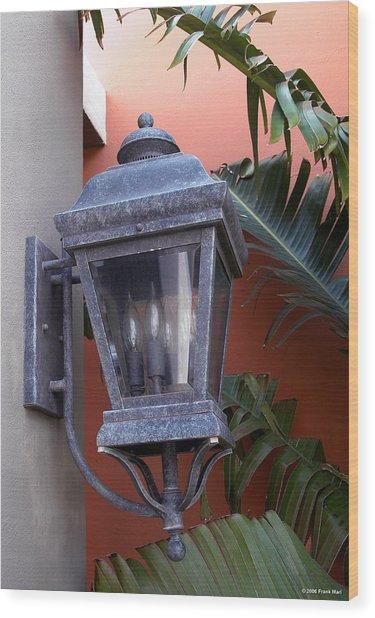 Lantern - Bermuda Wood Print
