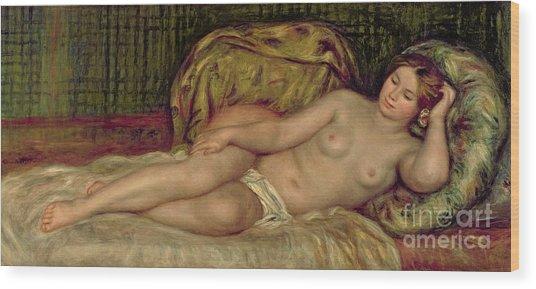 Large Nude Wood Print