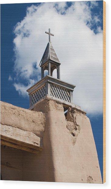 Las Trampas Church Wood Print