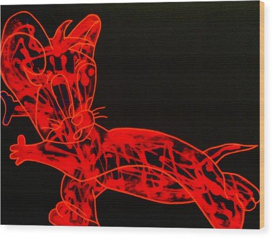 Laser Wood Print