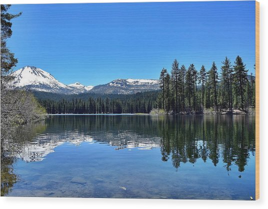 Lassen Volcanic National Park Wood Print