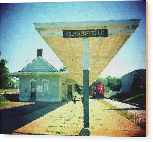 Last Train To Clarksville Wood Print