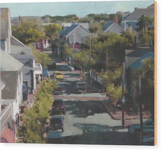 Late Summer Nantucket Wood Print