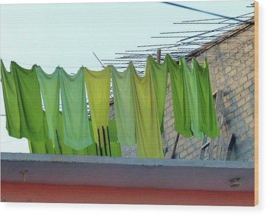 Artisan Laundry Wood Print