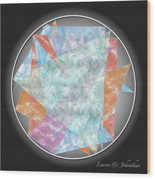 Lauren-johnathan Wood Print