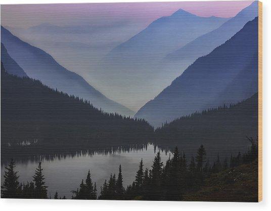 Layers Of Serenity Wood Print