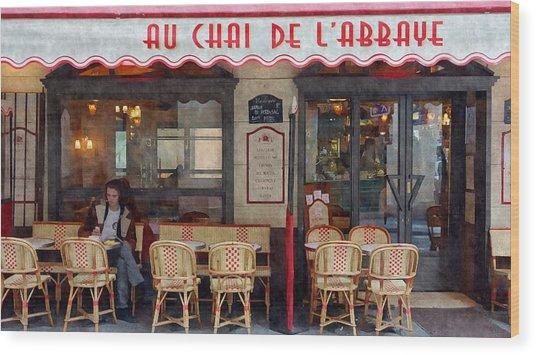 Le Chai Paris  Wood Print