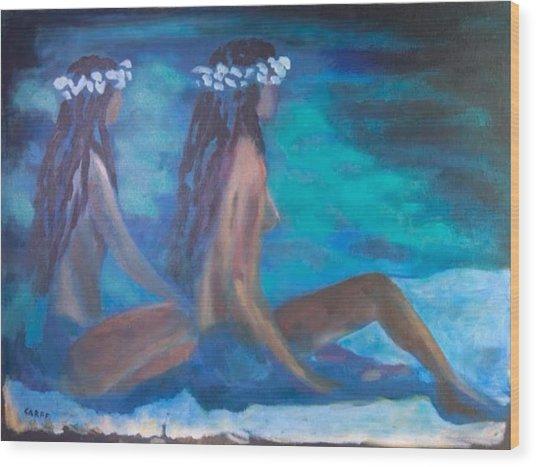 Le Hawaiane  Wood Print