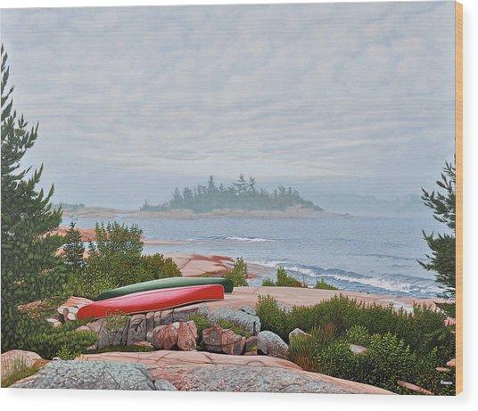 Le Hayes Island Wood Print
