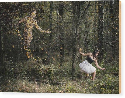 Le Sylphe Wood Print