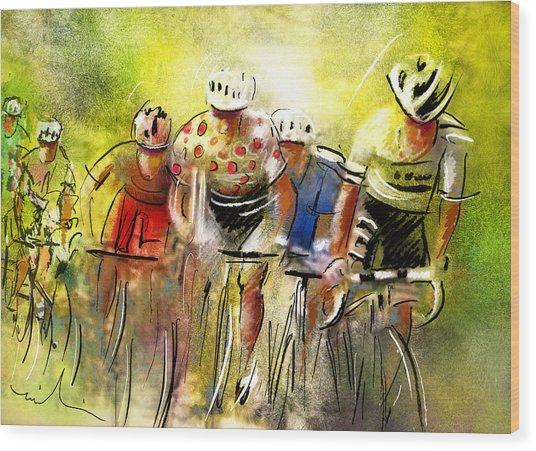 Le Tour De France 07 Wood Print