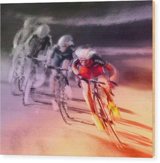 Le Tour De France 13 Wood Print