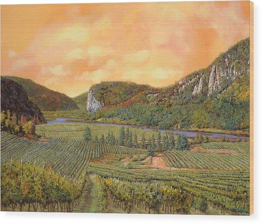 Le Vigne Nel 2010 Wood Print