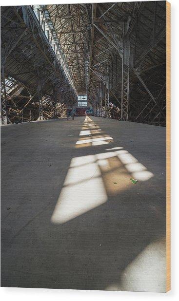 Leading Lights Wood Print