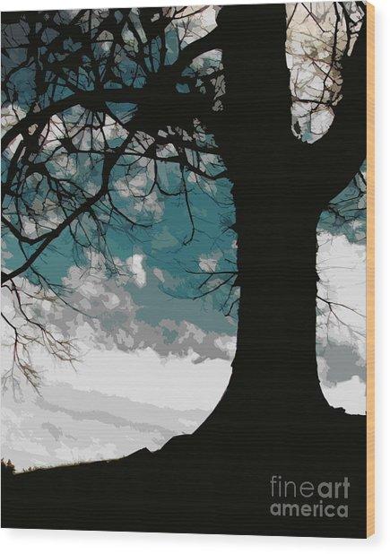 Leaping Spirit Wood Print