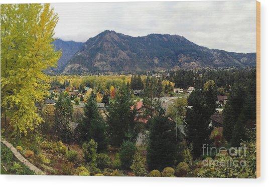 Leavenworth, Wa Wood Print