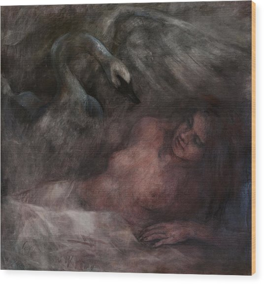 Ledra Wood Print by Elisabeth Nussy Denzler von Botha