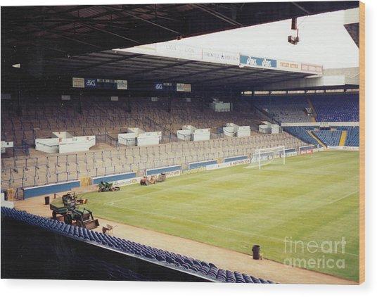 Leeds - Elland Road - The Kop 3 - 1993 Wood Print