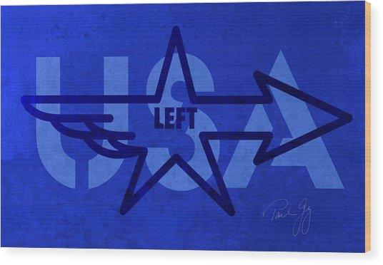 Left Wing Wood Print by Paul Gaj
