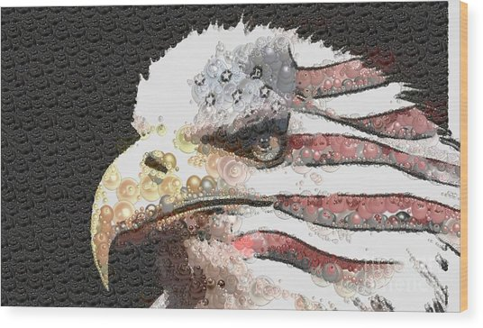 Legally Unlimited Eagle Wood Print