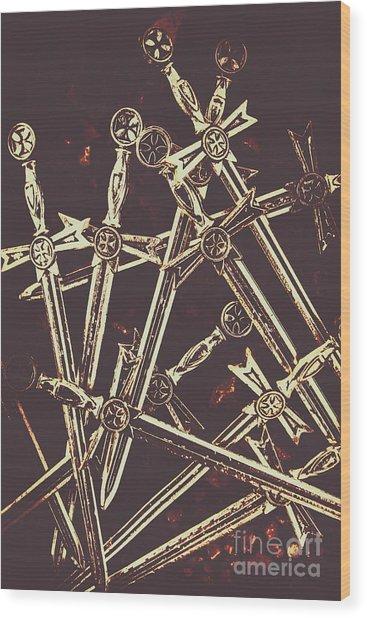 Legion Of Arms Wood Print