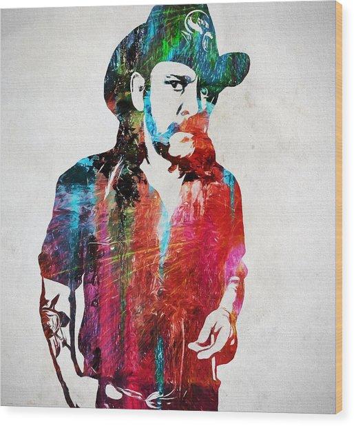 Lemmy Kilmister Wood Print