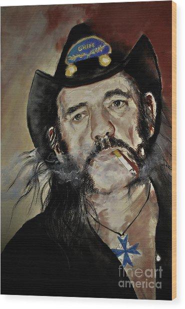 Lemmy Kilmister Motorhead Wood Print
