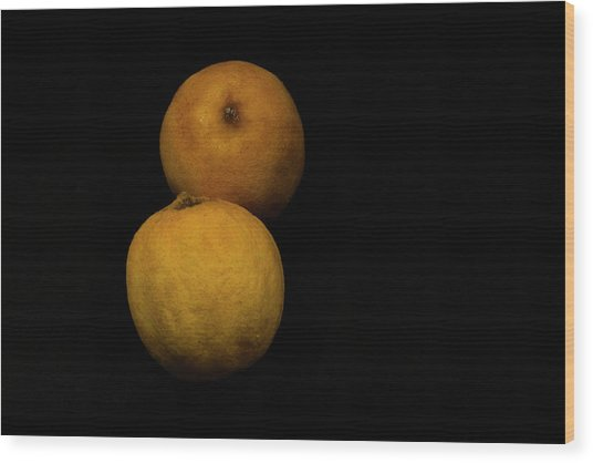 Citrus Wood Print by Stephane Loustalot