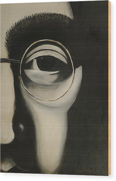 Lennon's Left Eye Wood Print