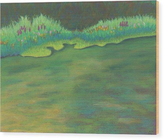 Lenox Audubon Pond 3 Wood Print