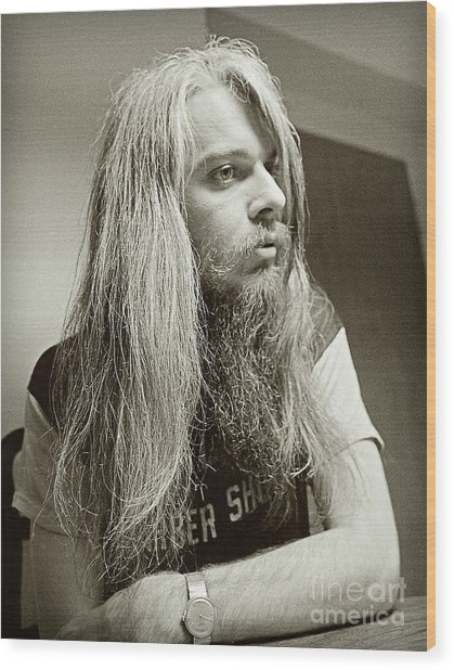 Leon Russell 1970 Wood Print