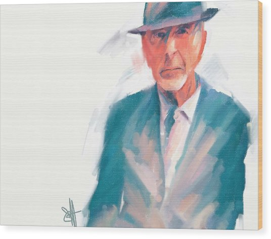 Leonard Wood Print by Scott Waters