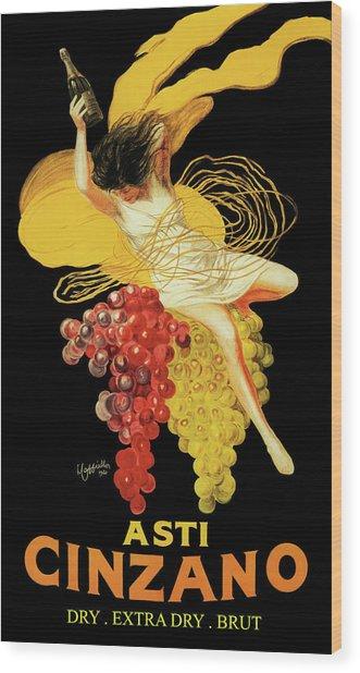 Leonetto Cappiello - Asti Cinzano Wood Print