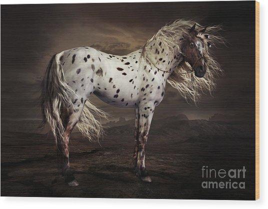 Leopard Appalossa Wood Print