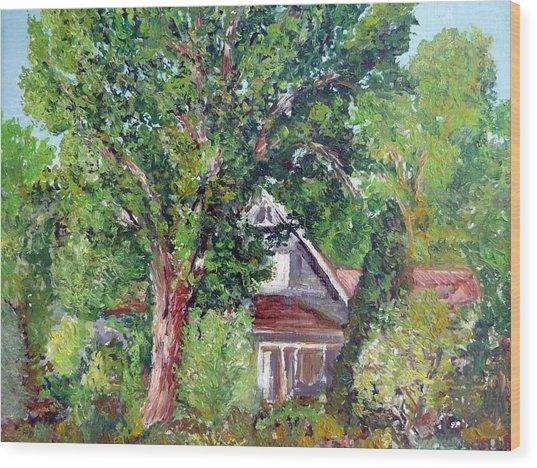 Lesher Homestead Boulder Co Wood Print