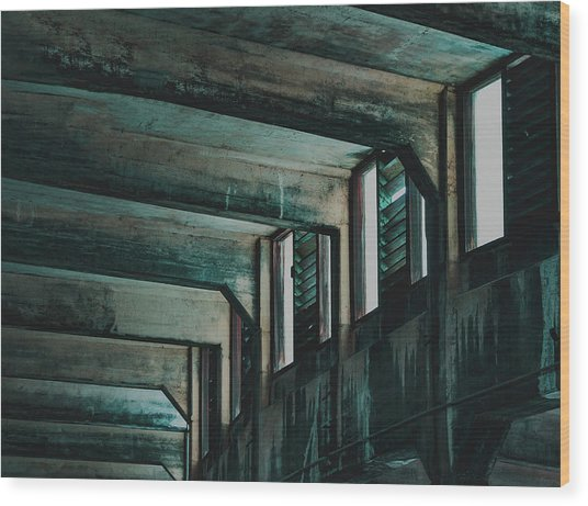 Letting In The Light Wood Print