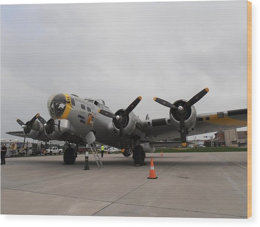 Liberty Belle B17 Wood Print