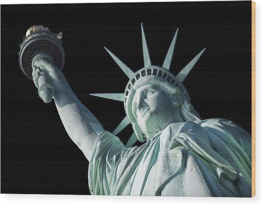 Liberty II Wood Print