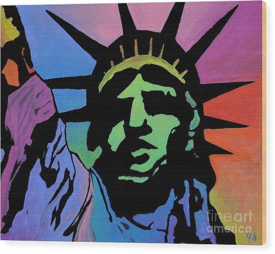 Liberty Of Colors Wood Print