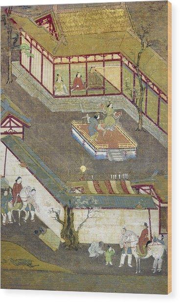 Life Of Buddha Wood Print