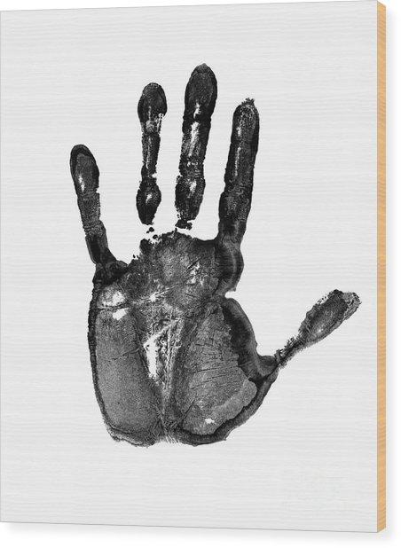 Lifeline - Free Hand Wood Print