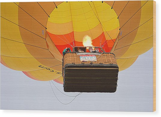 Wood Print featuring the photograph Liftoff by AJ Schibig