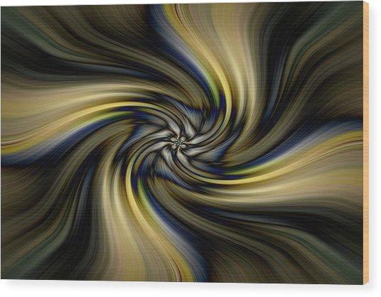 Light Abstract 10 Wood Print