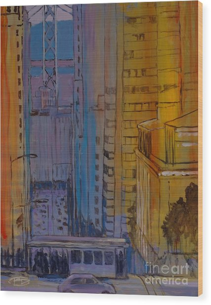 Light And Dark Wood Print by Kip Decker